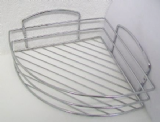 Lexington Corner Chrome Wall Shower Basket - 01045100